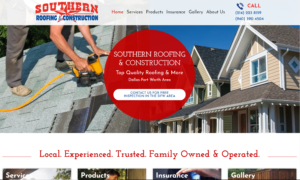 Basic Roofing Website